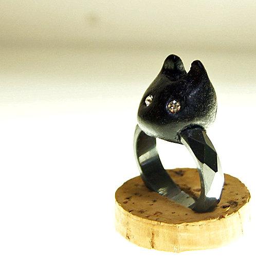 黒猫リング