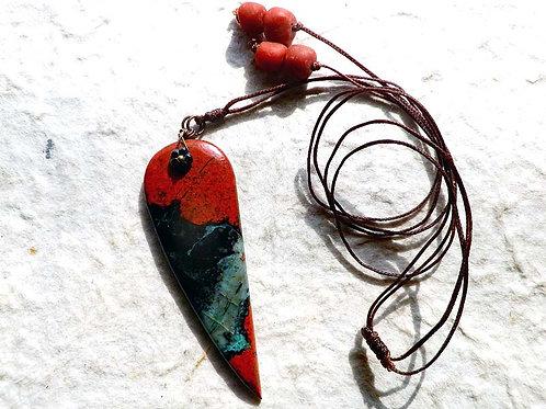 ソノラサンライズ~赤銅の牙~ナチュラルスタイルペンダント