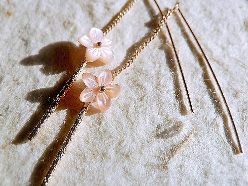 桜ピアス~アメリカンピアス