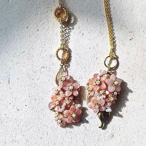 桜ネックレス2種