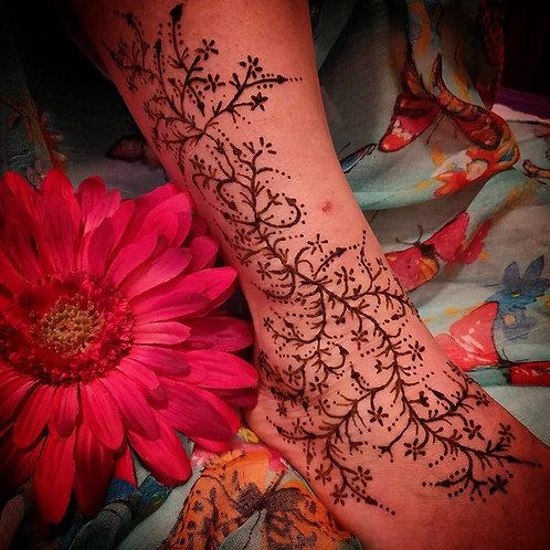 Mendhi Henna Skin Decoration PBD