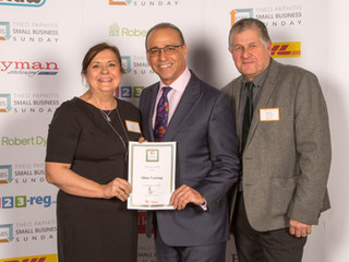 Winners of Theo Paphitis SBS Awards !
