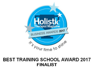 Finalists in the The Holistic Therapist Magazine Awards 2017