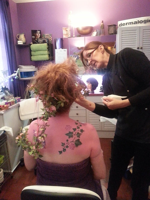 Theatrical Makeup | Hair | Olive Training | Wiltshire