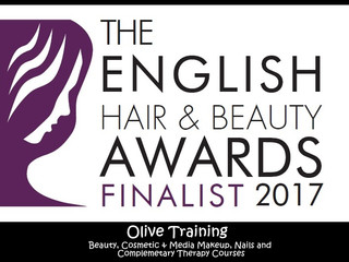 Finalists in the English Hair and Beauty Awards 2017