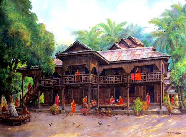 Win Thein - Moemeik Mountain Monastery