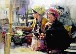 Ko Maung Win Hla - Pao Morning Vegetable Market
