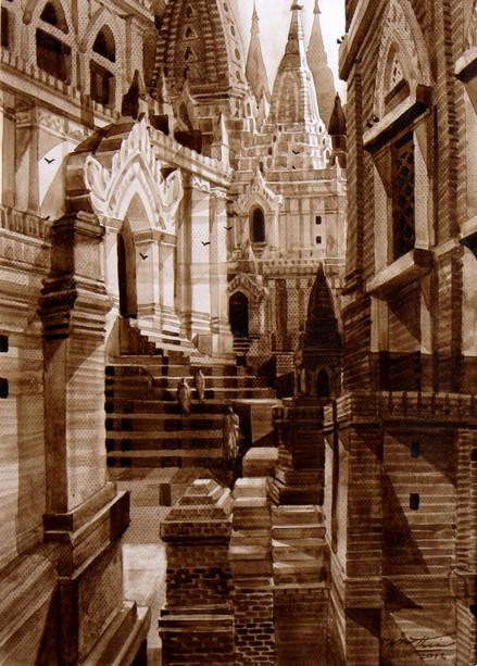 Win Thein - Among Pagodas