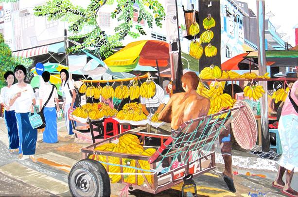 Aung Min - Banana Shop