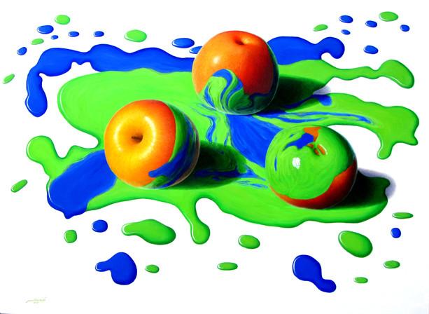 Min Zayar Oo - Apples In Colors 18
