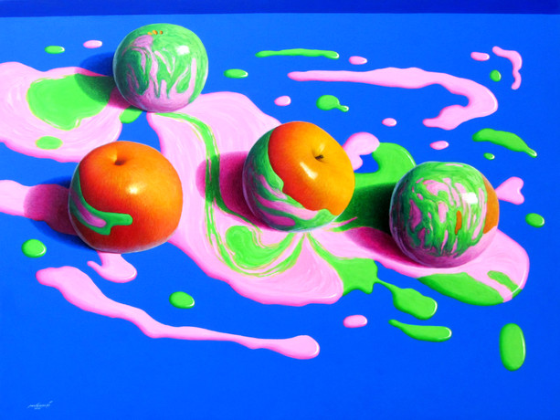 Min Zayar Oo - Apples In Colors 14