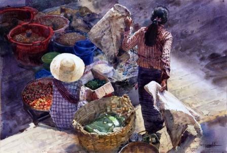 Ko Maung Win Hla - Taunggyi Market 06