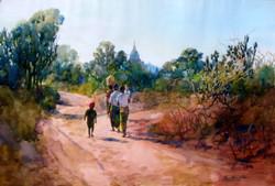 Khin Mg Than - Returning Home
