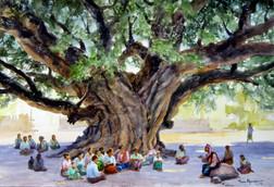 Than Kywe - Old Man Teaching