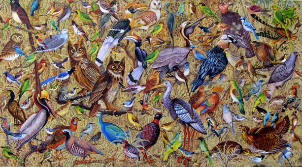 Shwe Kyaw Lin - A Thousand Birds