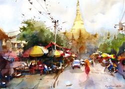 Myint Naing - Shwedagon Pagoda