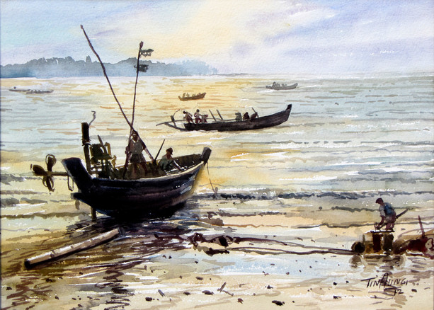 Tin Aung - Fishery Beach