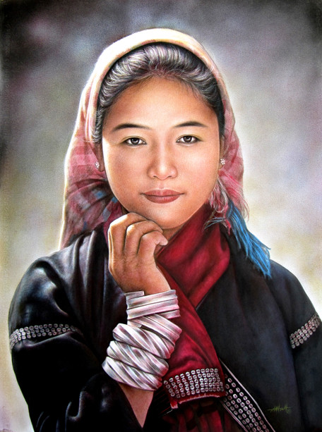 Than Tun - Akhar Woman