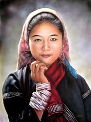 Than Tun - Akhar Woman