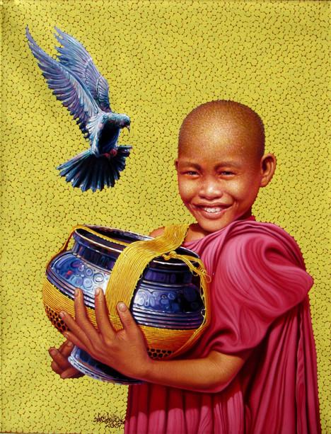 Zaw Zaw Aung - Happy Novice