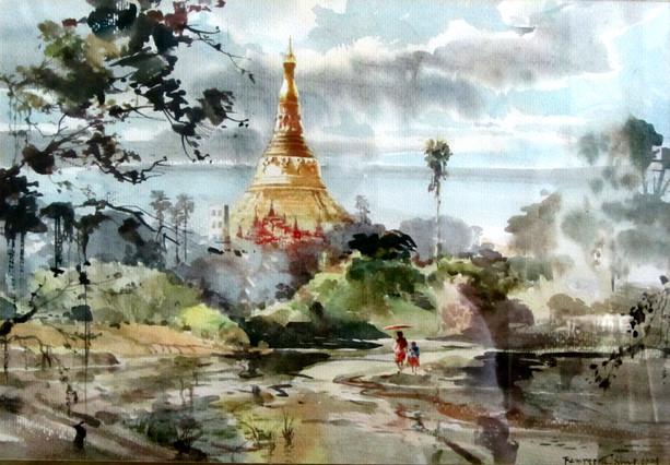 Ramree Tin Shwe - Going to Shwedagon Pagoda