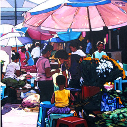 Kyee Myint Saw-Market Day 2018