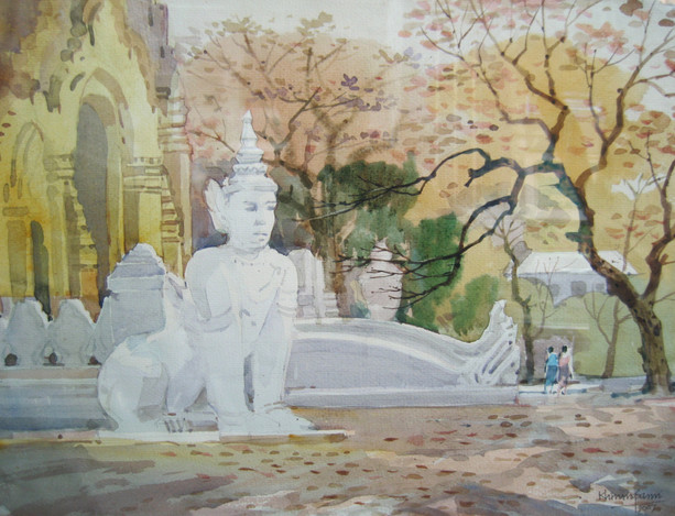 Khin Maung San - Pagoda