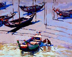 Myoe Kyaw - Ferry Boats