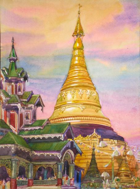 U Mya Aye - Pagoda