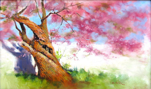 Min Thit Kyi - The Old Cherry Tree
