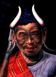 Than Tun - Chin Warrior