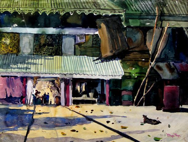 U Mya Aye - House in Suburban