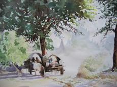 P. S. M. Kyaw - Cow Cart