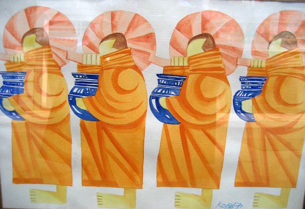 Ko Paing - Monks