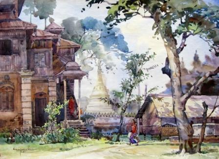 Ko Maung Win Hla - Village Monastery (Yatana Htee Phyu)