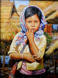 Aye Aung - Cute Girl