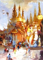 Myint Naing - Shwedagon Platform