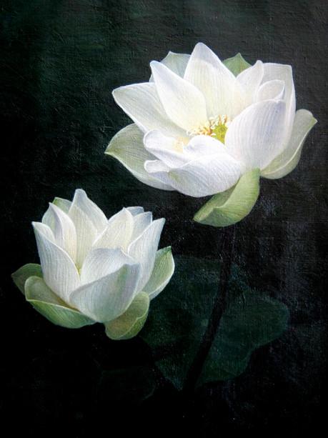 Min Zayar Oo - Two White Lotus
