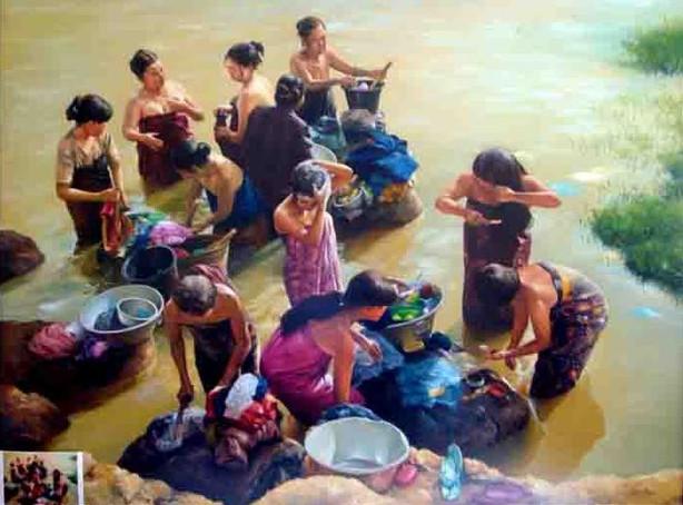 River Bathers