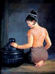 Than Htay - Myanmar Country Girl