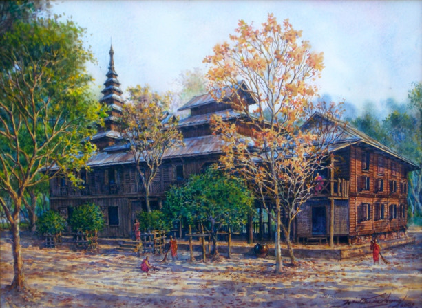 Win Thein - Chaung Oo Monastery