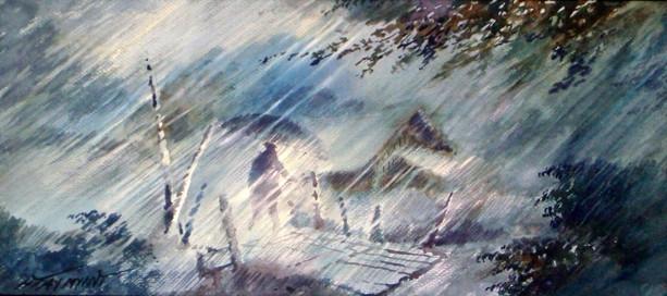 Htay Myint - In the Heavy Rain