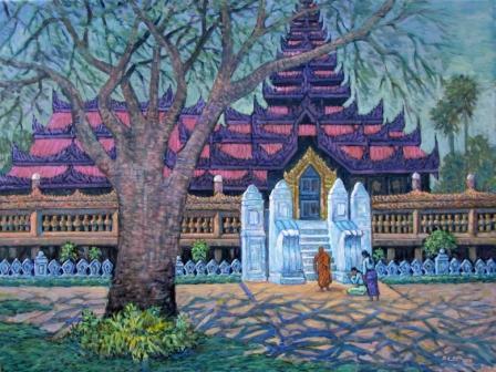 U Ba Win - Shwe Monastery