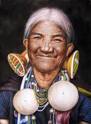 Than Tun - Old Chin Lady