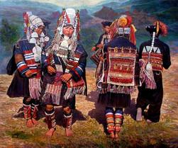 Zaw Min - Ahkar Dancers