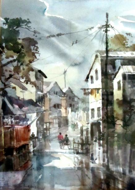 Ramree Tin Shwe - Yangon Suburban Street