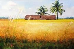 Khin Maung Myint - Paddy Hut