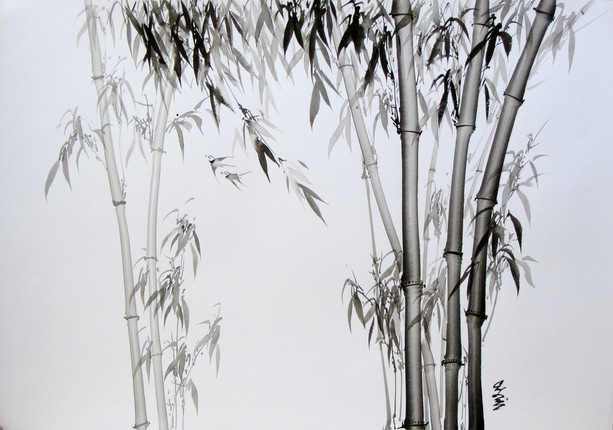 Ko Su - Bamboo Trees 07