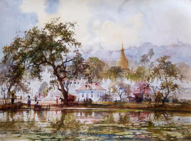 Marlar - Ku Tho Taw Pagoda Mandalay Hill