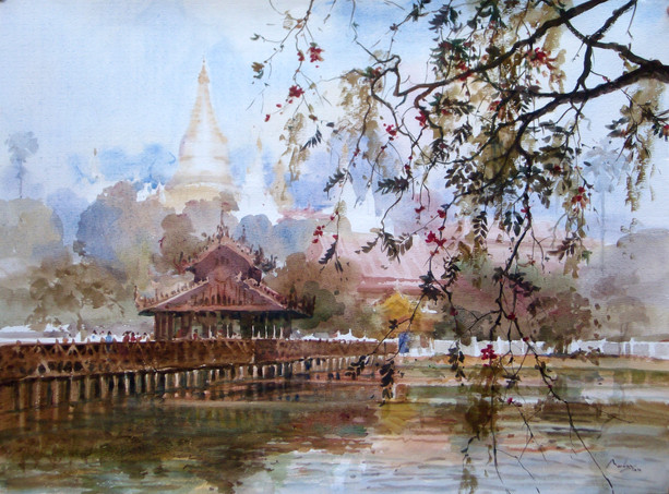 Marlar - Chan Tha Ya Pagoda, Mandalay